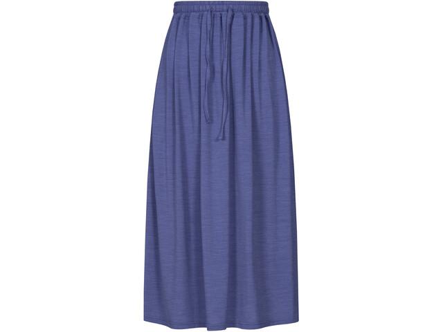 super.natural Long Falda Mujer, azul